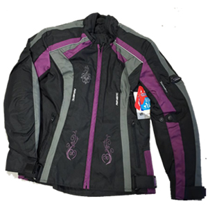 Purple Nylon Jacket